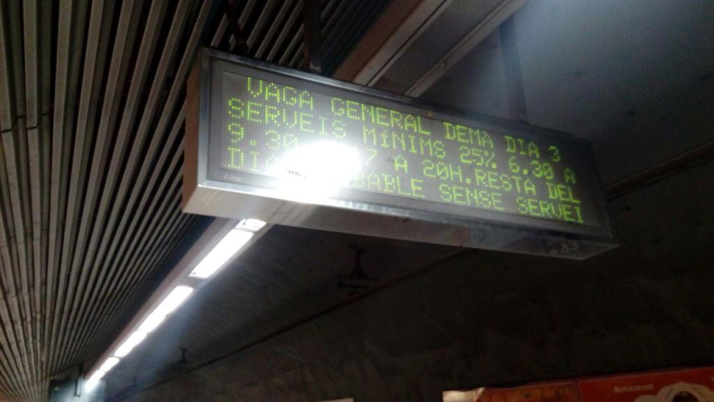 La plataforma Taula per la Democràcia convoca una huelga general el martes 3 de octubre en Catalunya
