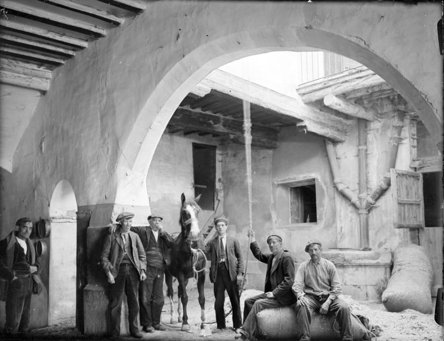 La sala 4º Espacio muestra la obra aragonesa de Otto Wunderlich captó en Aragón