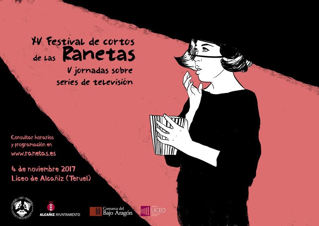 Arranca el Festival de cortos de las Raneta y las V Jornadas sobre series de TV