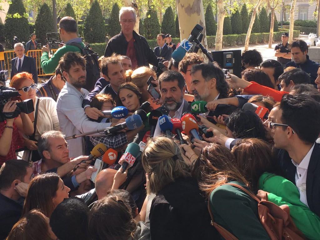 La Audiencia Nacional busca cabeza de turco para el 20-S y el 1-O