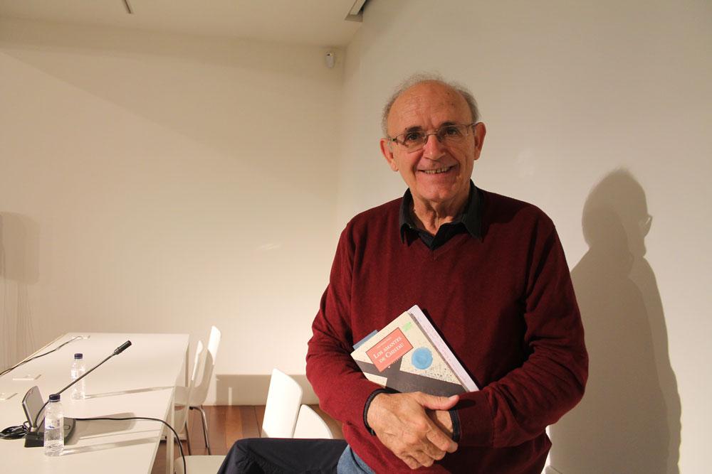 José Solana Dueso, ganador del Premio literario en aragonés Arnal Cavero 2017