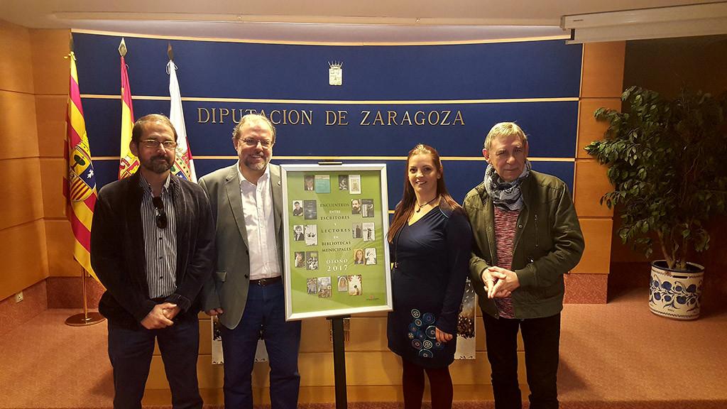 La campaña de animación a la lectura de la Diputación de Zaragoza llegará este otoño a las bibliotecas de 133 municipios
