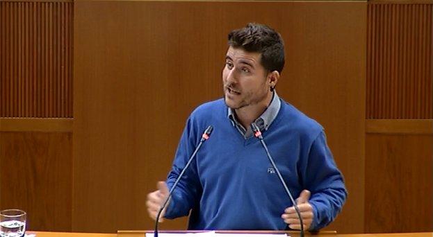 Nacho Escartín, nuevo secretario general de Podemos Aragón en sustitución de Pablo Echenique