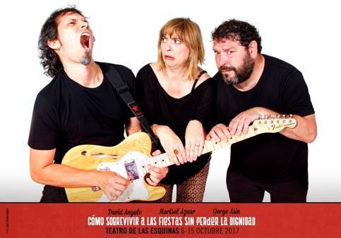 """Los """"oregoneses"""" se movilizan por unas fiestas dignas en el Teatro de las Esquinas"""