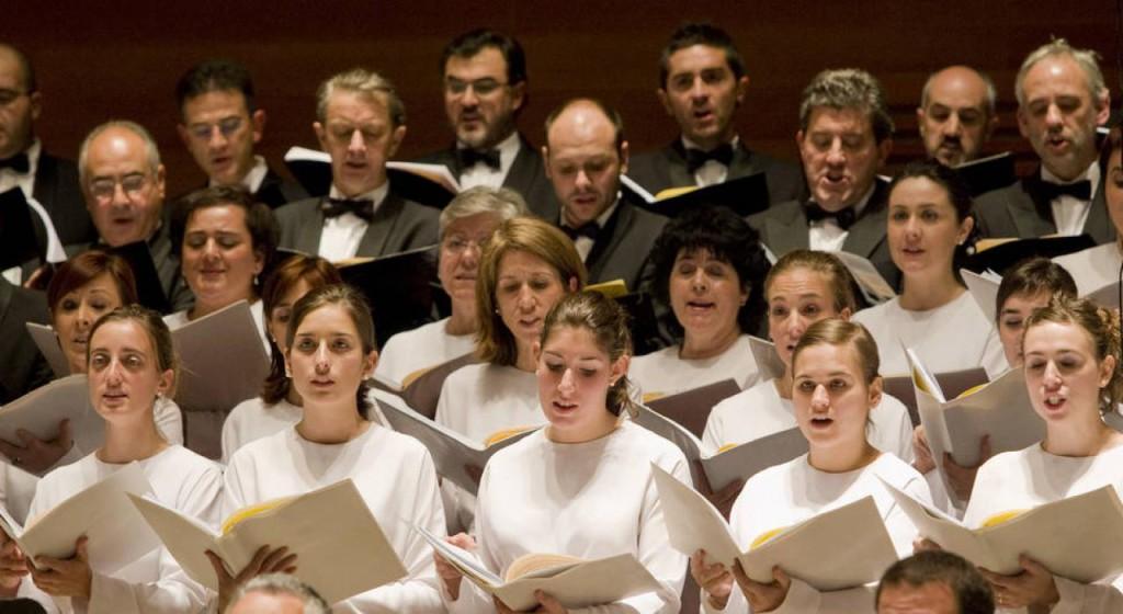 El Orfeón Donostiarra, la Sinfónica Goya Ciudad de Zaragoza y el Coro Infantil Amici Musicae inician la XXIII Temporada de Grandes Conciertos de Otoño en el Auditorio