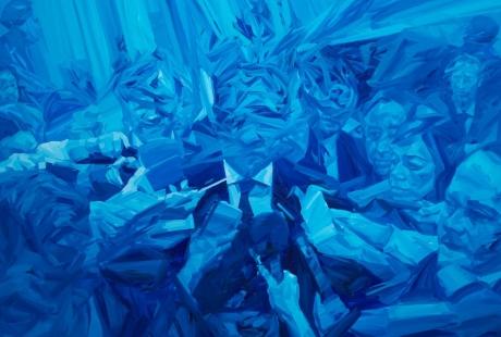 El brasileño Renato Costa muestra su visión artística de un mundo 'sin tinta' en el IAACC Pablo Serrano
