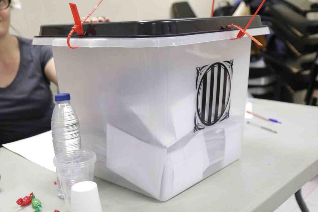 Así se votó Catalunya el pasado 1 de octubre