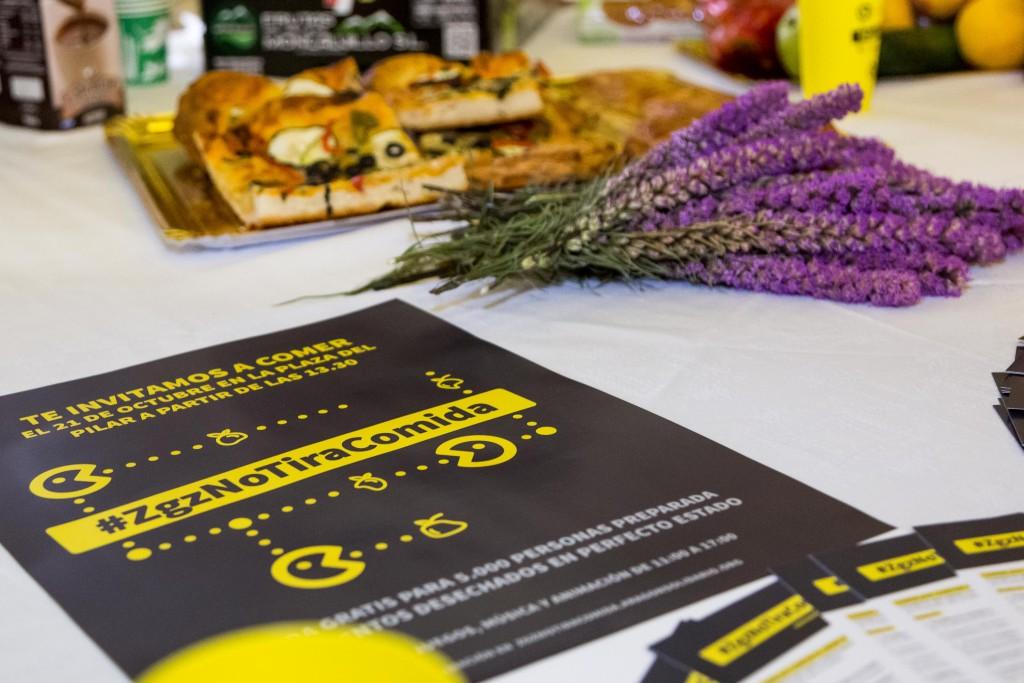 Zaragoza, capital mundial contra el despilfarro de alimentos
