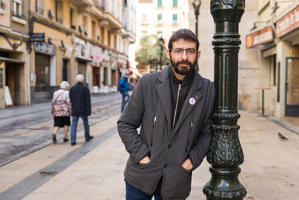 """Álvaro Sanz: """"El patriarcado impregna nuestras vidas y define nuestra sociedad de forma constante e insoportable"""""""