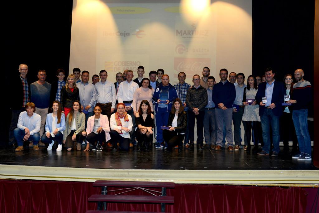 Alcanyiz celebra la Gala del Atletismo Aragonés 2017