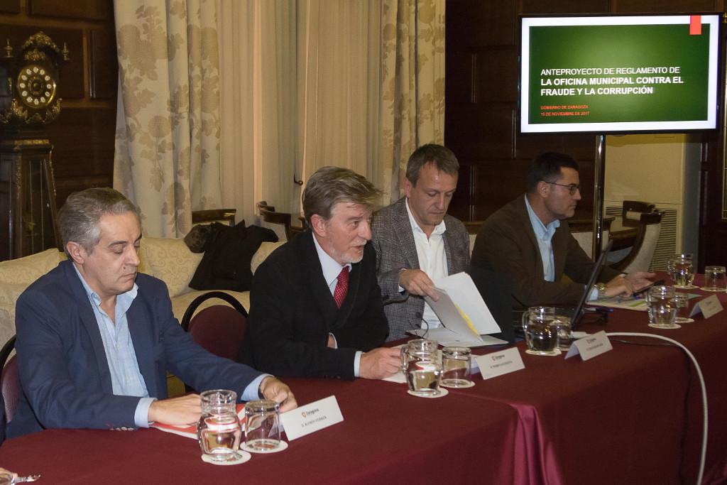 La Oficina contra el Fraude y la Corrupción de Zaragoza comienza a definirse