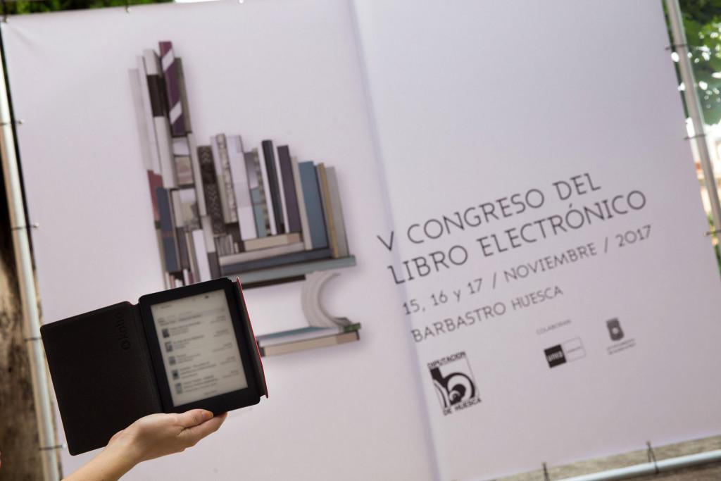 El auge de la palabra hablada protagonizará el cierre del Congreso del Libro Electrónico de Balbastro