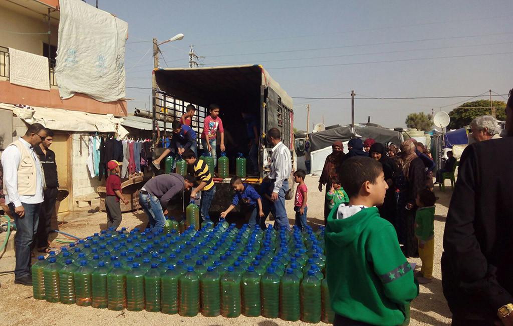 Arapaz-MPDL Aragón reparte ayuda humanitaria a 1500 refugiados sirios que están sobreviviendo en condiciones de extrema pobreza en el Líbano