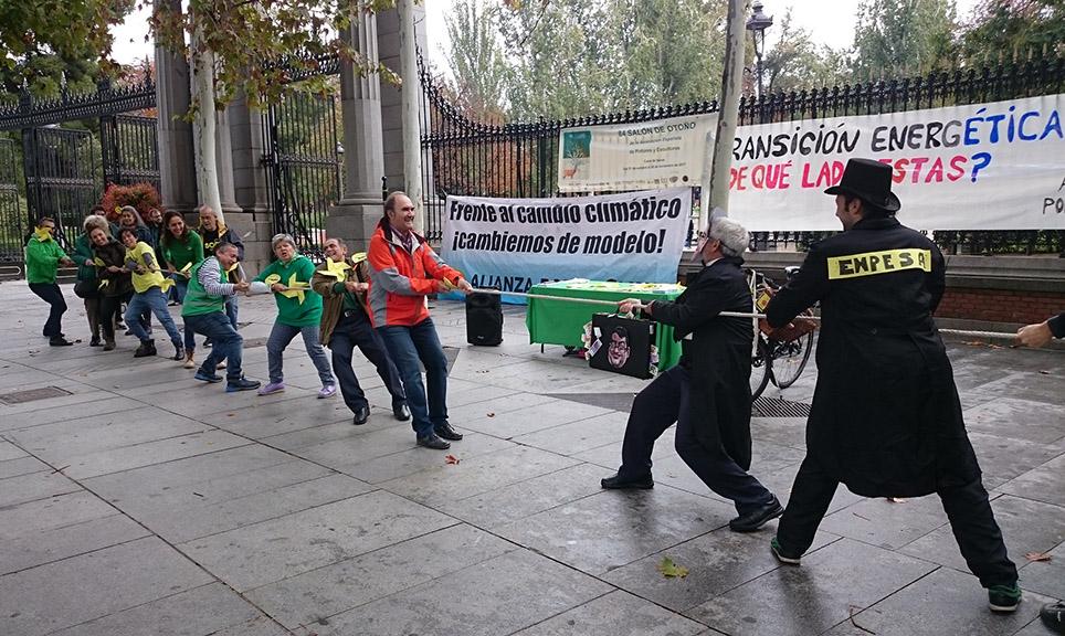 Alianza por el Clima exige al Gobierno español que no siga frenando la transición energética