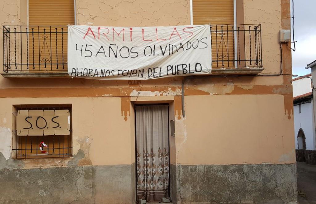 Armillas prosigue con las movilizaciones contra las acciones de Minera Sabater