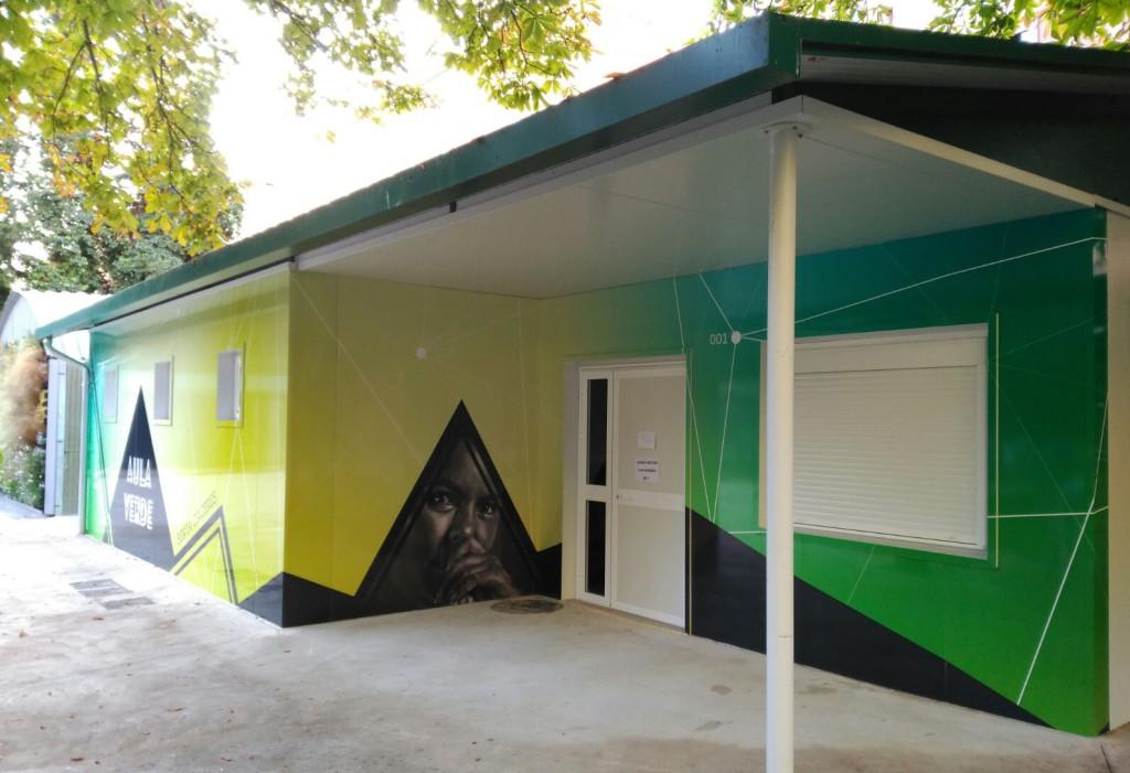 """El Aula Verde """"Berta Cáceres"""" echa a andar en Uesca"""