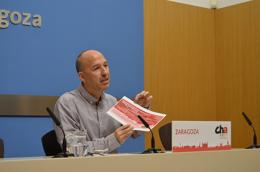 CHA habilita una web para recoger propuestas de la ciudadanía para el Debate sobre el Estado de Zaragoza
