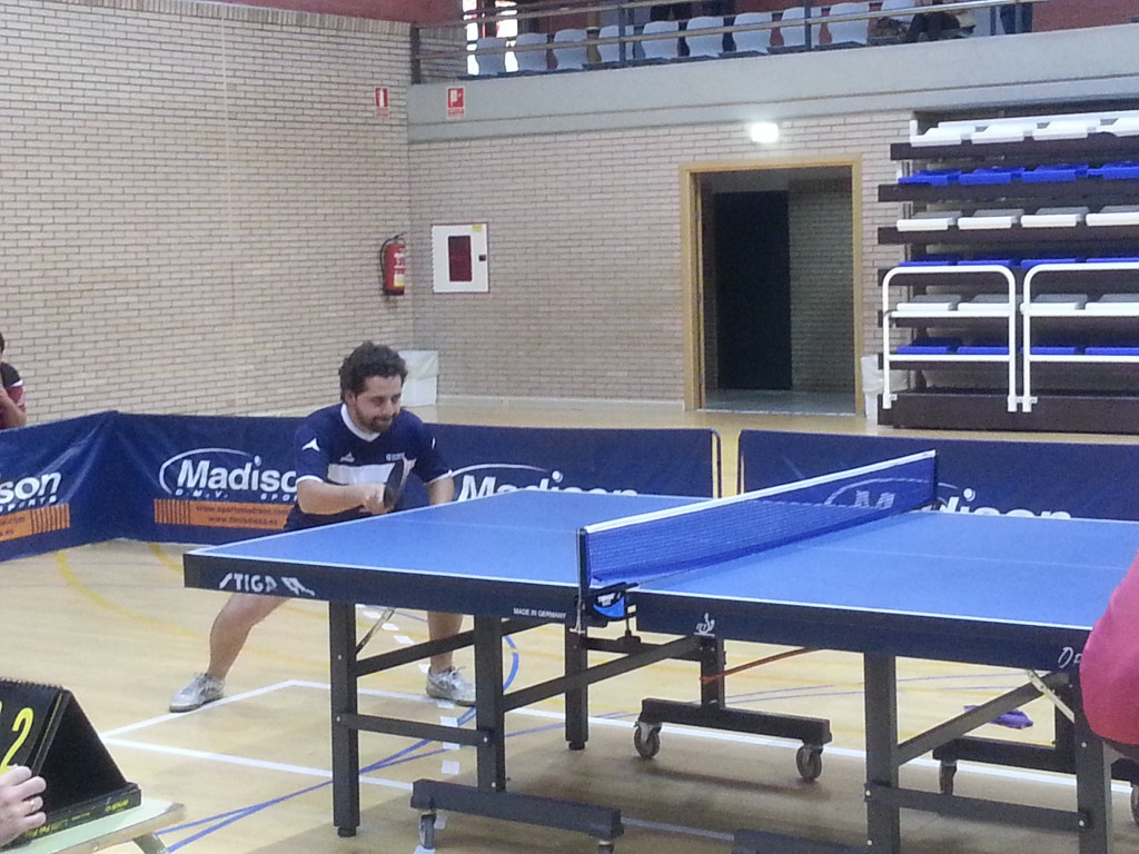 Importantes encuentros para los equipos aragoneses de Segunda División en tenis de mesa