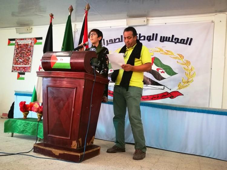 Una delegación de las Cortes participa en el 42 aniversario del Consejo Nacional saharaui