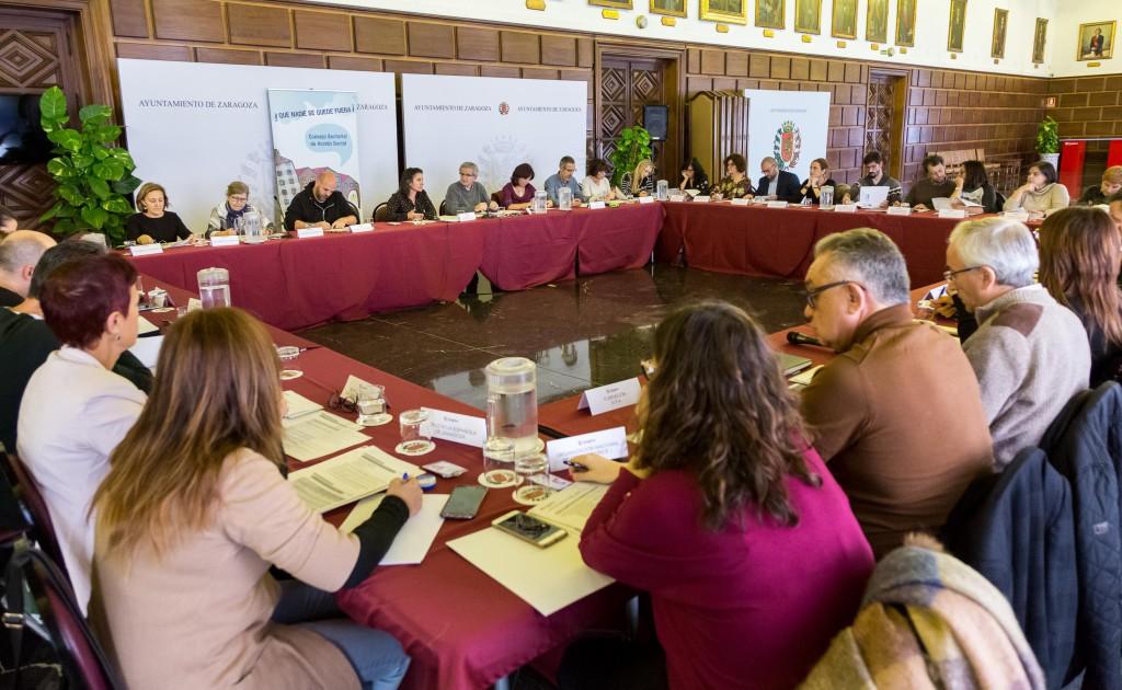 Luisa Broto presenta el proyecto de Presupuesto de 2018 en el noveno Consejo Sectorial de Acción Social
