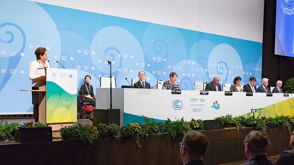 Organizaciones internacionales de la sociedad civil exigen en la COP23 mayor ambición