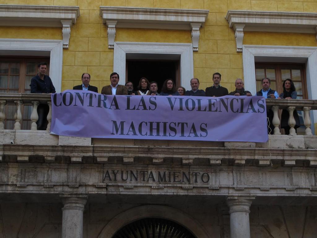 El Ayuntamiento de Teruel se suma al Día Internacional de la Eliminación de la Violencia Contra la Mujer