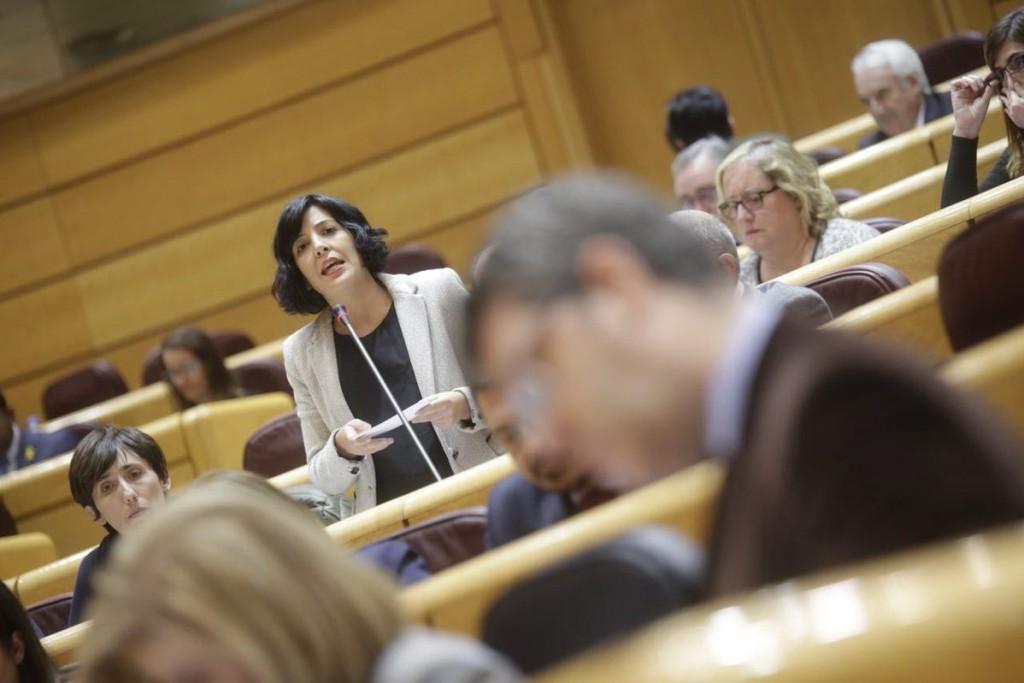 Idoia Villanueva pide información en el Senado sobre Mina Muga