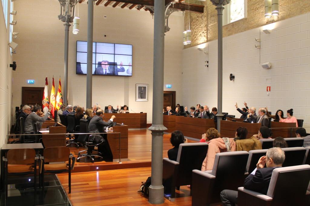 La DPZ aprueba por unanimidad crear un centro de interpretación de la Guerra Civil y la Memoria Democrática en Aragón