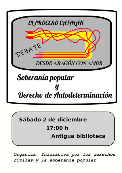 Debate autodeterminacion Tarazona 2D