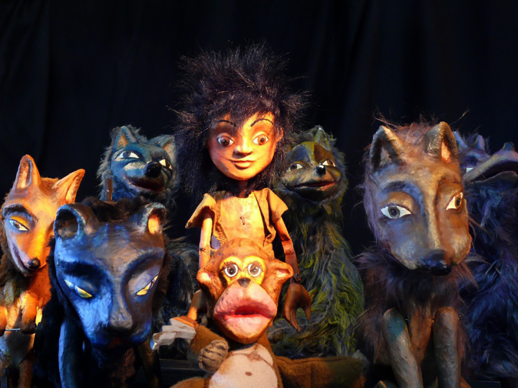 """Títeres Cachirulo presenta """"El libro de la selva"""", la gran historia de Mowgli"""
