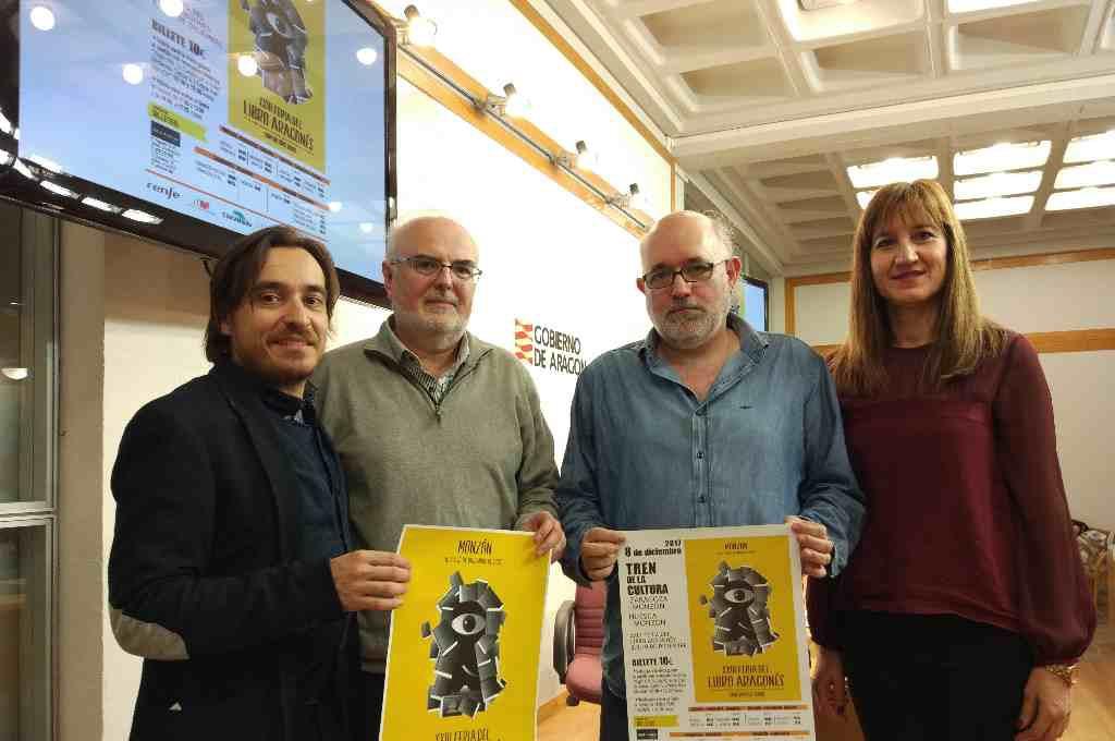 El Gobierno de Aragón presenta sus premios literarios en la Feria del Libro Aragonés de Monzón