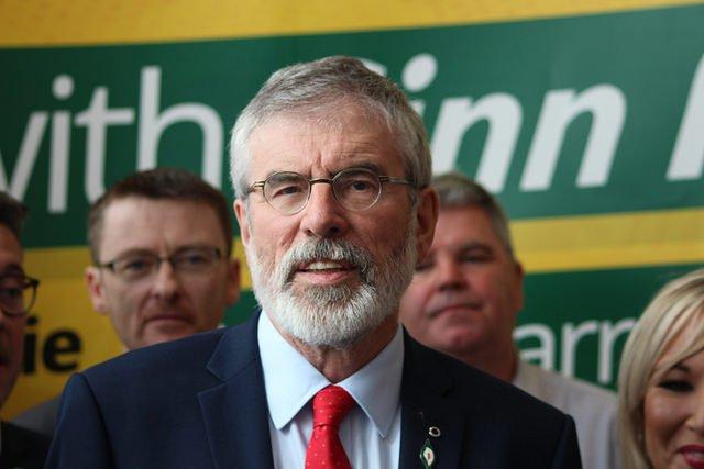 Gerry Adams dejará la presidencia del Sinn Féin después de 34 años al frente