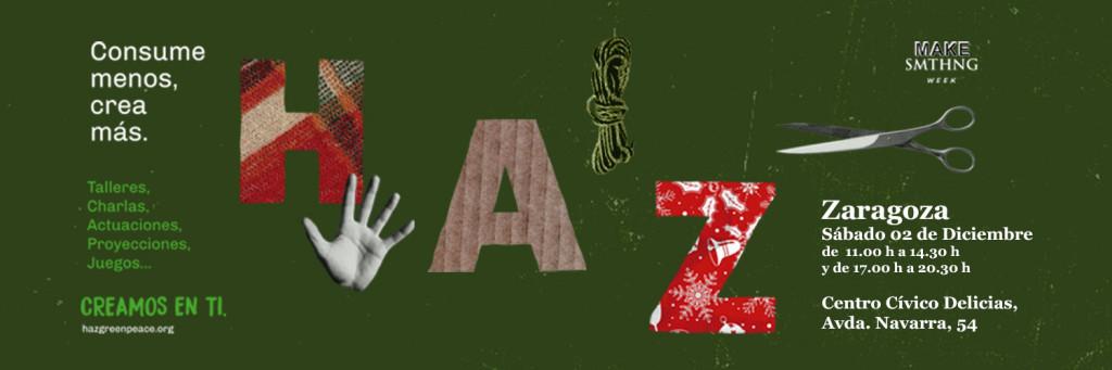 HAZ jornadas MES REAS Greenpeace Zgz 2D17 fb