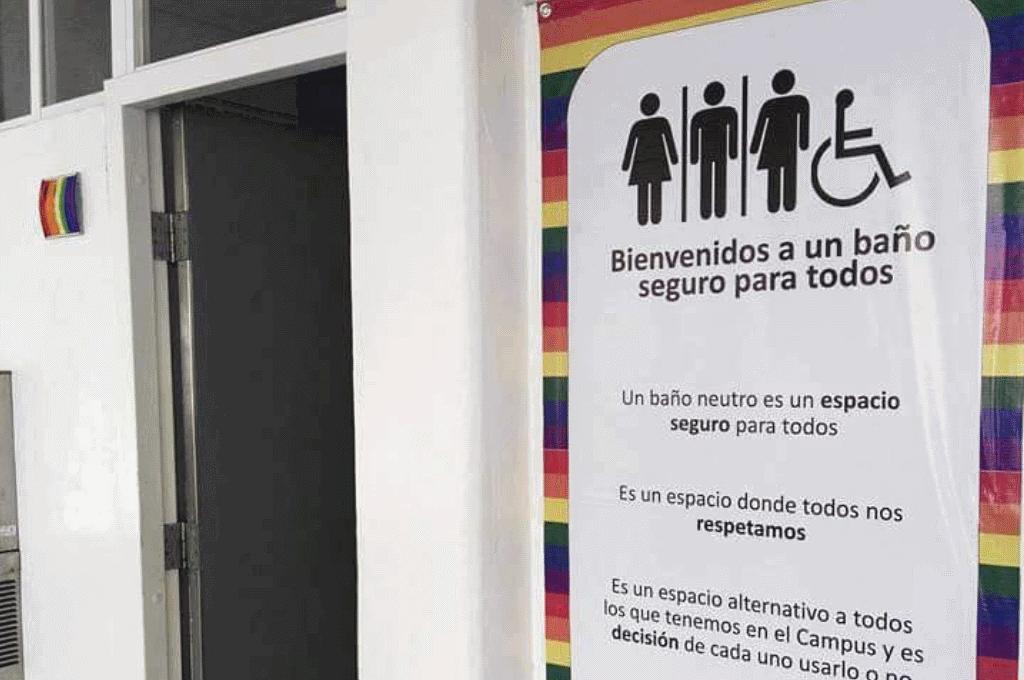 El Colectivo Hu-Entiende LGTB+ apuesta por los baños sin etiquetar