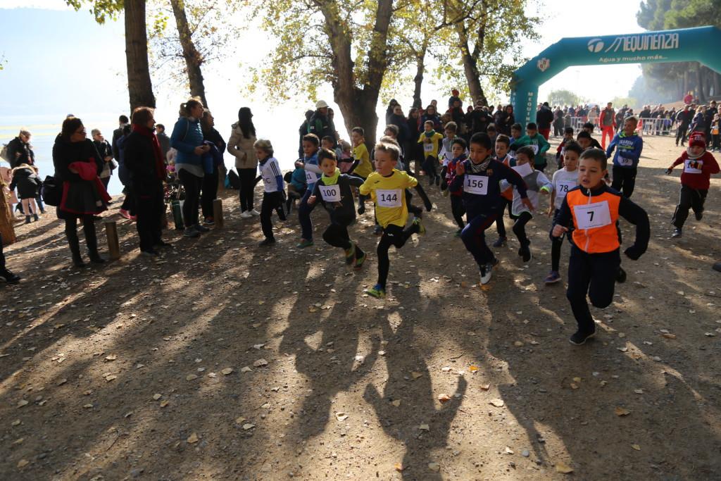 Récord de participación en el III Cross Villa de Mequinensa con 200 participantes de todas las edades