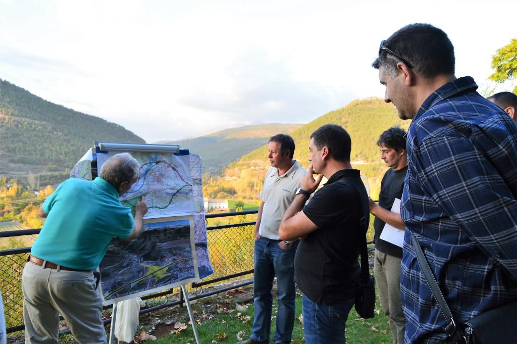 IU lleva al Congreso español la propuesta alternativa al proyecto de Fomento de la variante de Chaca
