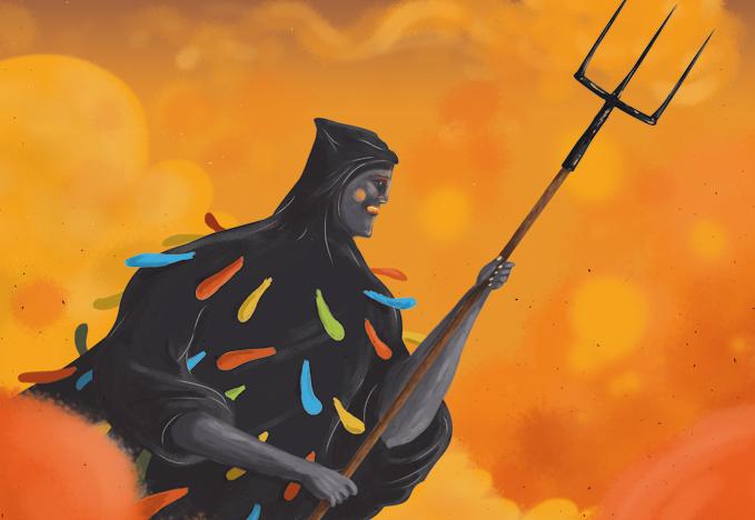 'La Morisma', una leyenda de l'Aínsa, adaptada e ilustrada por Saúl M. Irigaray