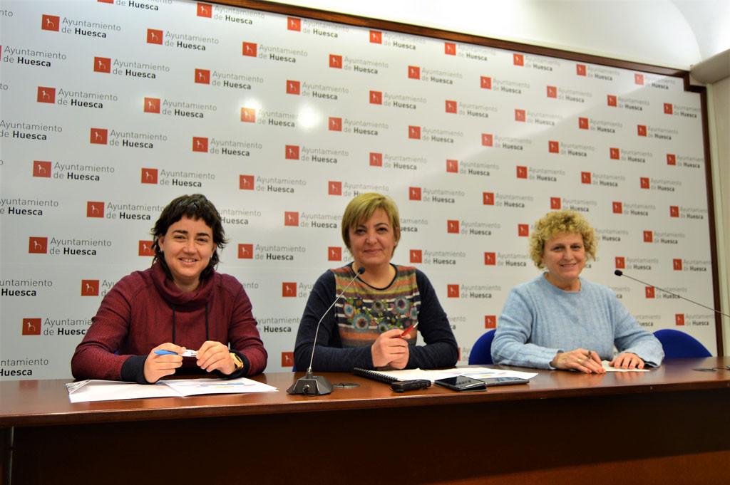 Cambiar Huesca «consolida» su modelo de ciudad recuperando inversión para Desarrollo, Medio Ambiente y Servicios Sociales