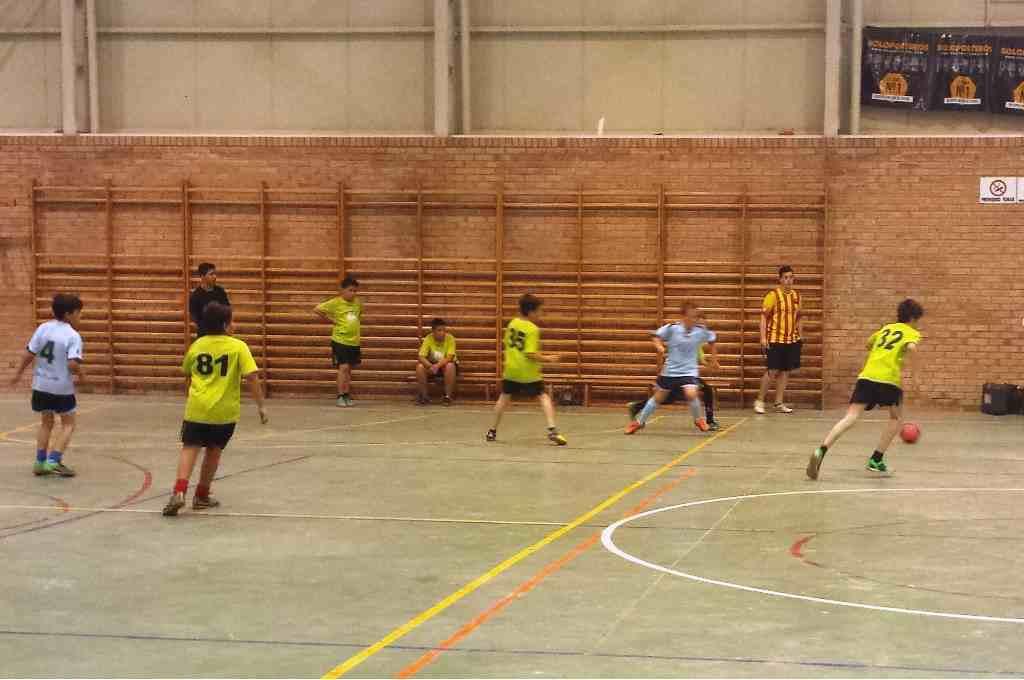 Arranca la liga comarcal de fútbol sala escolar en el Cinca Baix