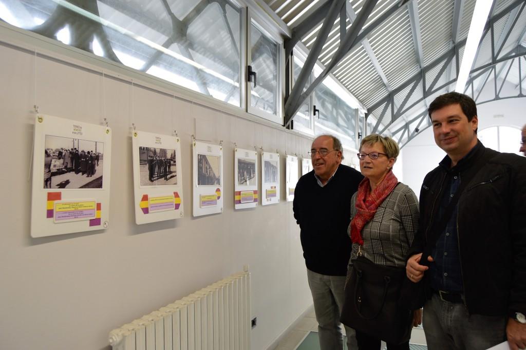 El Centro Cultural Manuel Benito Moliner de Uesca acoge la exposición 'Memoria Viva'