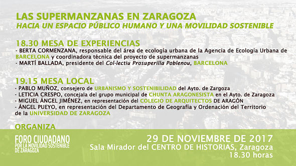 Foto: Foro Ciudadano por la Movilidad Sostenible
