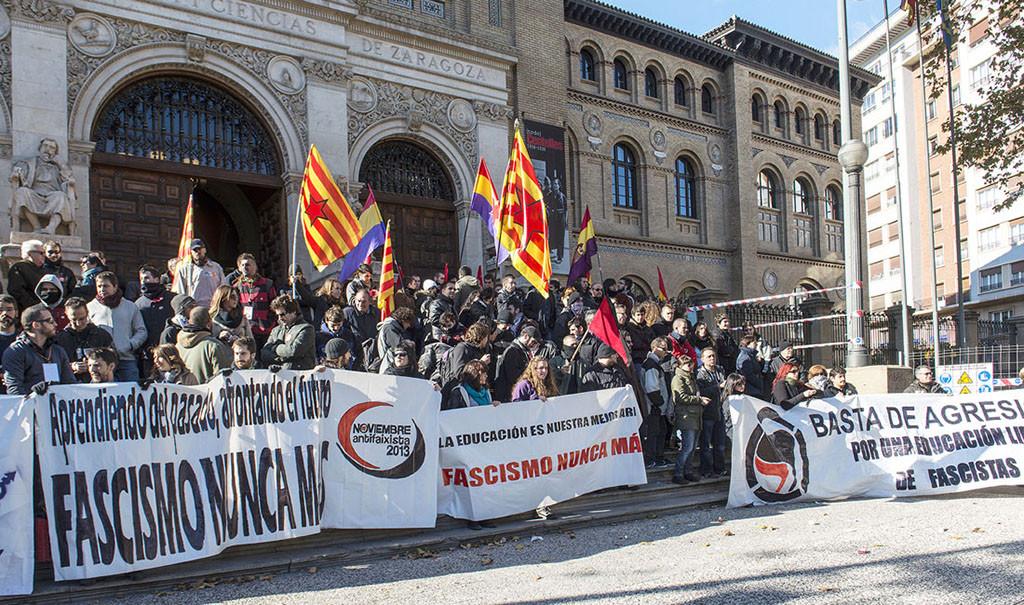 """""""Unir las luchas contra la represión"""", objetivo de Noviembre Antifaixista 2017"""