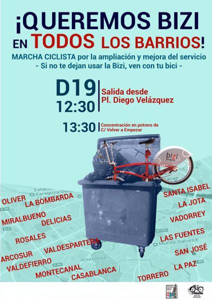Marcha Ciclista Zaragoza (Pedalea y FABZ)