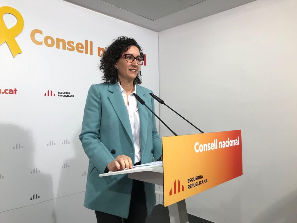 Marta Rovira no acude a declarar al Supremo y anuncia su marcha al exilio