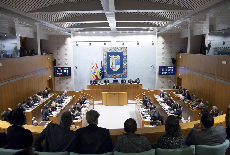 Las Cortes de Aragón aprueban la Ley de Capitalidad