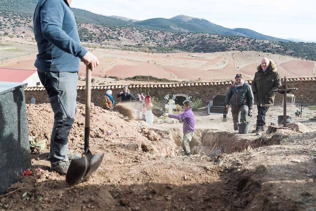 ARICO proseguirá con la exhumación de las víctimas del franquismo en Pomer