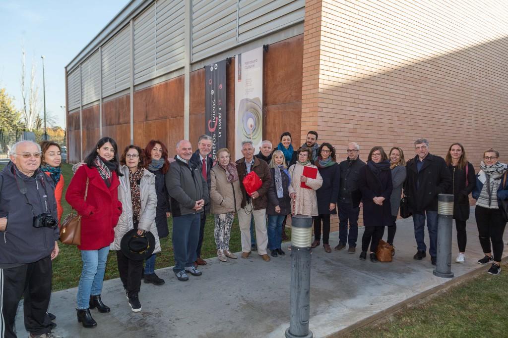 Ciudades socias del proyecto europeo Mobile Age visitan Zaragoza para conocer las rutas amigables