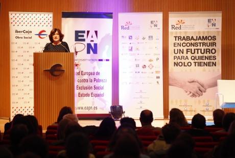 """Gobierno de Aragón y la EAPN coinciden en la necesidad de implementar una """"Renta Mínima"""" para la ciudadanía"""