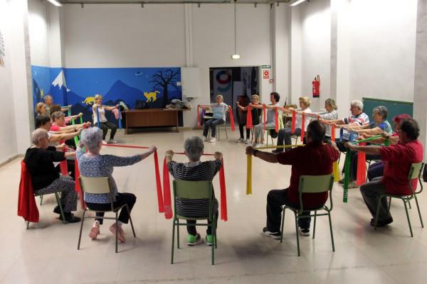Taller de gimnasia para personas mayores. Foto: CSC Luis Buñuel