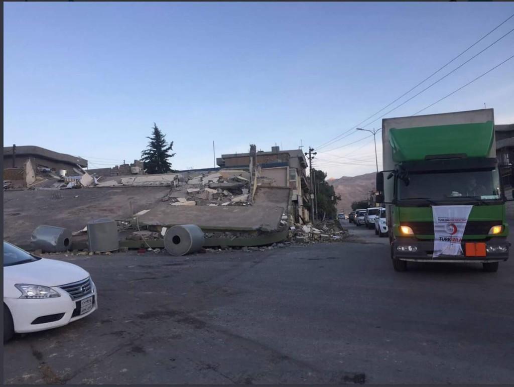 Un terremoto registrado entre la frontera de Irak e Irán deja 328 personas fallecidas y más de 2.500 heridas